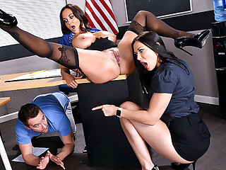 Tutors Three Akin Fuckfest give Classroom