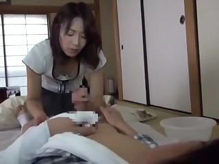 7 - Japanese Milf With Care Of Her Boy - LinkFull In My Frofile