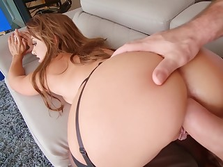 Horny battle-axe anal exhaustion in great POV