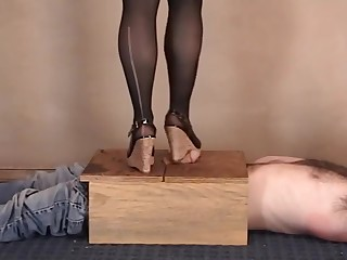 A run in my stockings CBT (from Bitta's Vault)