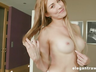 Cute blonde Paulina Soul gets her asshole destroyed by a black dick