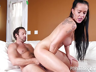 Amazing fit together rides dick like she's a porn diva