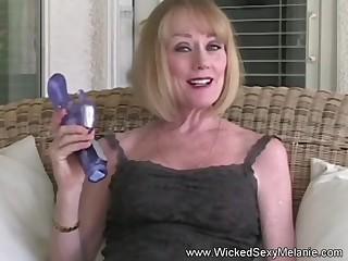 Homemade masturbation plus blowjob from Wicked Sexy Melanie.