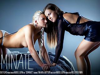Dominate - Katy Sky & Tina Kay - SexArt