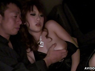 Asian coquette Yui Takashiro gives her buff and gets her pussy creampied