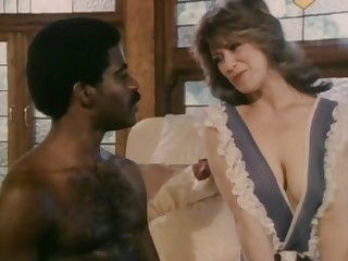 Retro interracial porn with mature wife Christy Coul