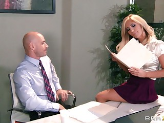 Big tits and ass Tasha Reign fucked projected by her teacher