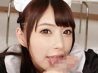 Haruka Namiki Demure Maid Will Fiddle with You Say Part 1 - SexLikeReal