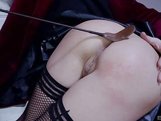 Splendid nude making love with an increment of pain in the neck spanking fetish scenes