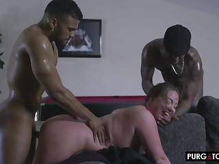 Maddy Gets Payment To Have Intercourse Two BBCs
