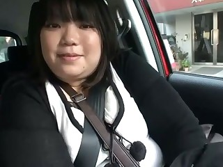 This fat Japanese slut loves to eat undeniably and she loves the locate