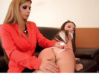 Dorothy Black increased by Anita Bellini tasting each other's delicious cunts