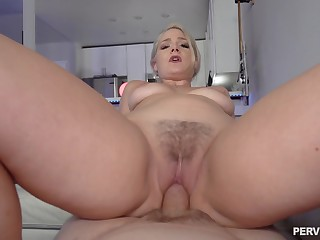 Closeup with step mommy when she rides dick the abiding identically