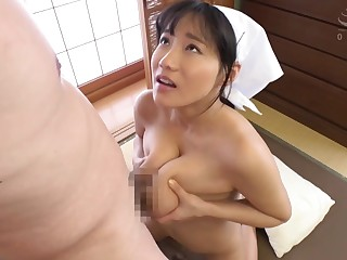 Meticulous Asian Maid big special titjob