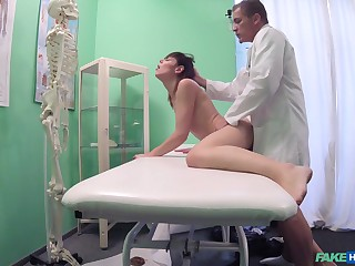 Hidden cam reveals the doctor treating young anyhow anent sex
