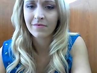 Amateur, Blonde, Pussy, Webcam