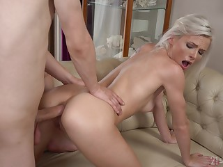 Young kirmess gets pain round the neck fucked round serious round yard XXX play