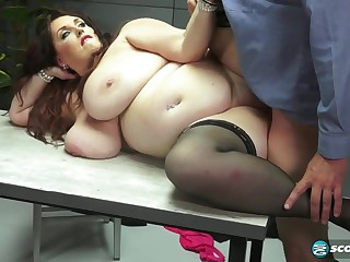 Fat lustful lady gets pounded changeless