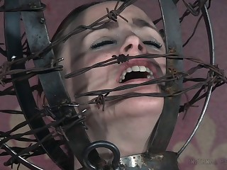 Oddball BDSM anguish session with hot ass and tits Matt Williams