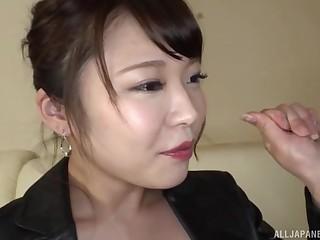 Homemade dusting of kinky Japanese darling Kawagou Yui boastfully pill popper