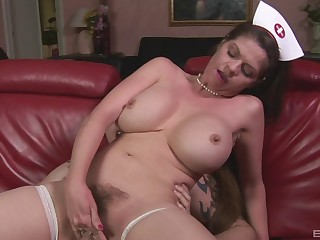 Big tits, Big pussy, Cowgirl, Hardcore, Hairy, Hairy mature, Lingerie, Milf, Mature, Mature big tits, Nylon, Pussy, Pornstar, Stockings, Uniform