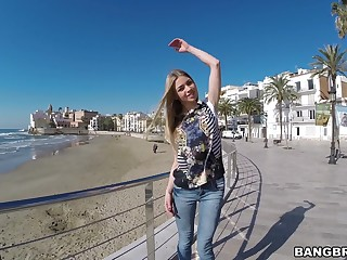 Amazing into public notice fucking close by seductive EX girlfriend Lolly Gartner