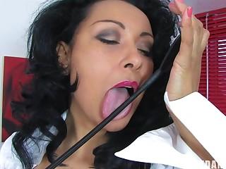 Horny cougar Danica Collins loves pleasuring her cravings