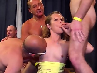 cute emaciated stepsis first fuck bunch orgy