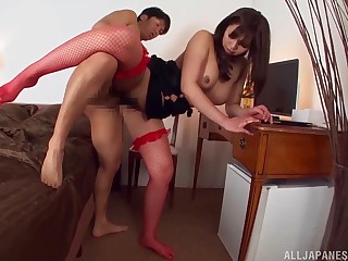 Japanese wife fucks there crazy positions for a wild XXX